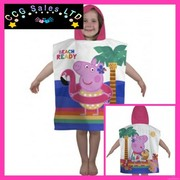 OFFICIAL PEPPA PIG HOODED PONCHO TOWEL