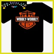 WIBBLY WOBBLY TIME MACHINE TEE T-SHIRT